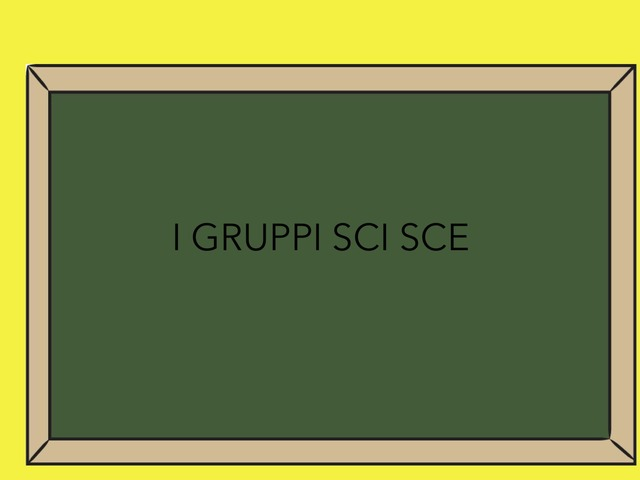 I Gruppi SCI E SCE by Sara Barbato