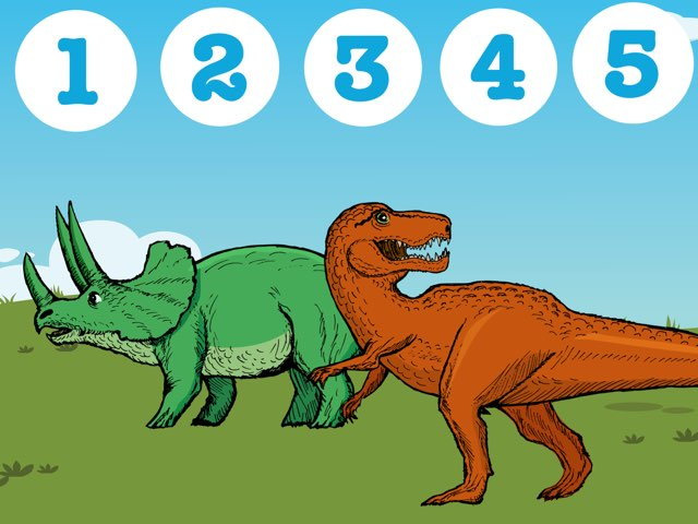 How Many Dinosaurs? by Ma wert