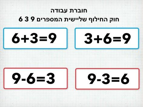 חוברת עבודה שלישיית המספרים 3 6 9  by Beit Issie Shapiro