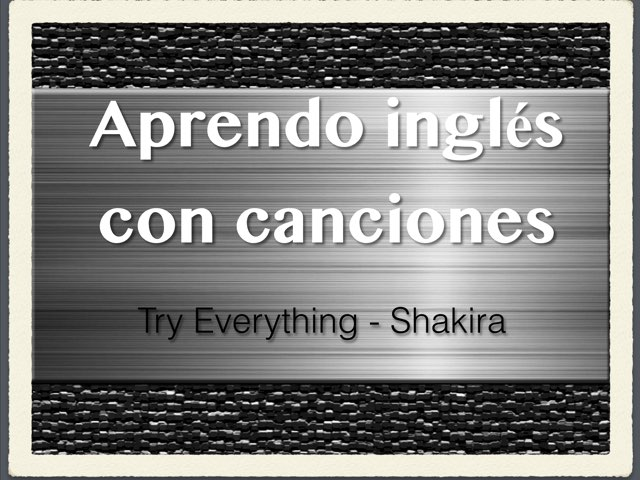 Aprendo inglés. Try Everything  by Elysia Edu