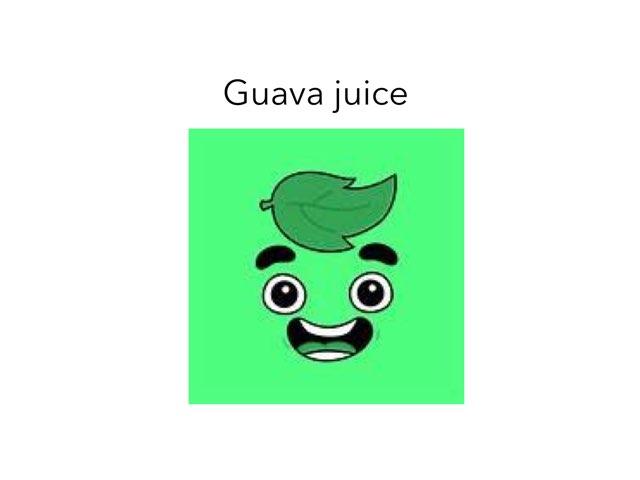 Guava Juice  by Jay Santiago