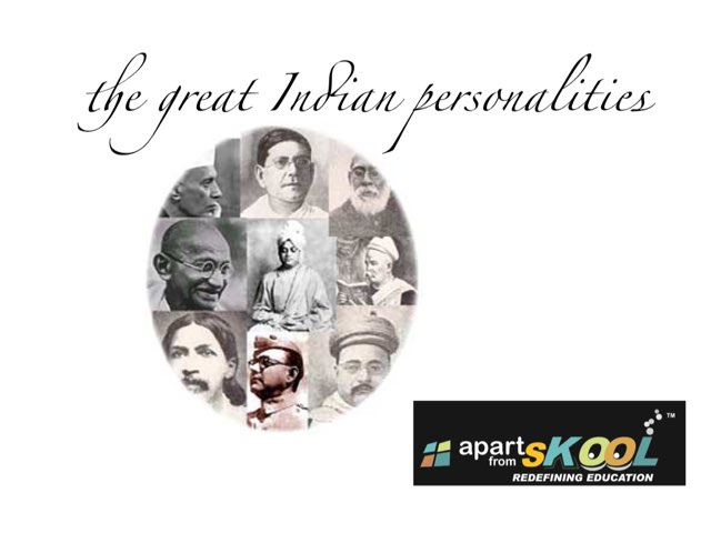Famous Indians Personalities  by TinyTap creator