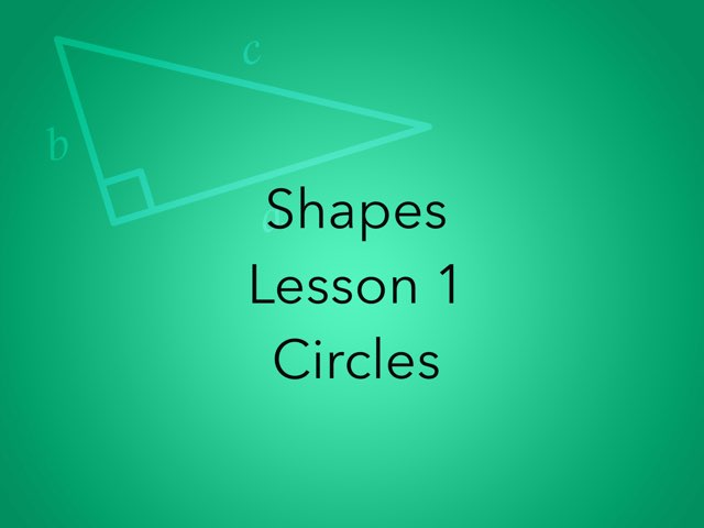 Shapes Lesson 1 by Emma- Martino
