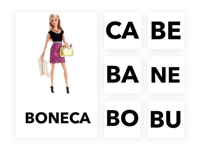 Qual sílaba começa a palavra BONECA? by Tainá Micaela da Silva