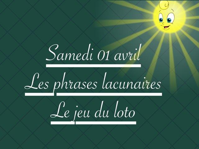 L - Sam01 - Phrases Et Jeu Loto by Caroline Gozdek