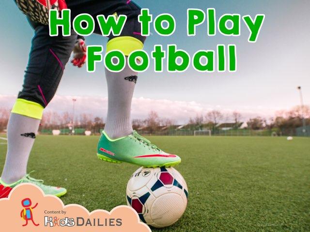 Football  by Kids Dailies