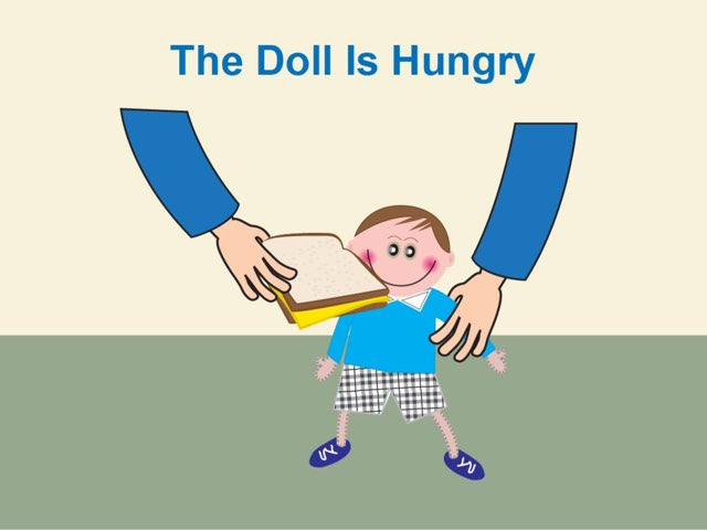 The Doll Is Hungry by My Life Skills Box