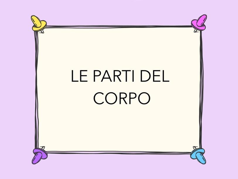 Le Parti Del Corpo by Alessandra