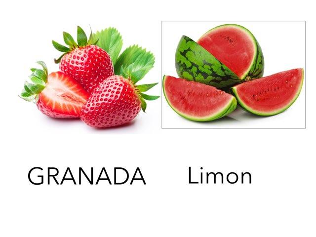 Frutas Divertidas by Mónica Gómez