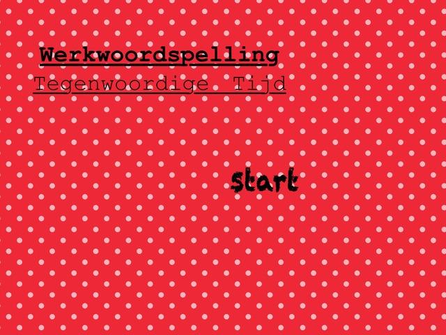 Werkwoordspelling Tegenwoordige Tijd by bieke bieke