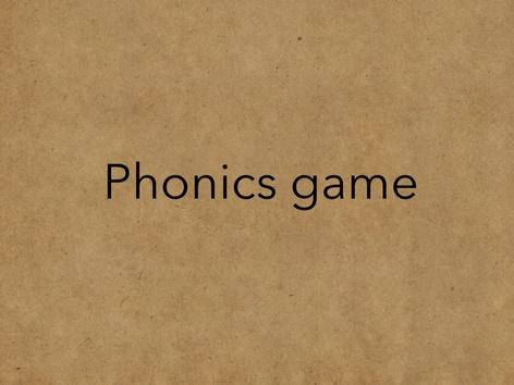 Phonics by Rebecca Mawdsley