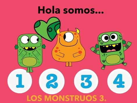 Los Monstruos Actividad 3. by Jose Sanchez Ureña