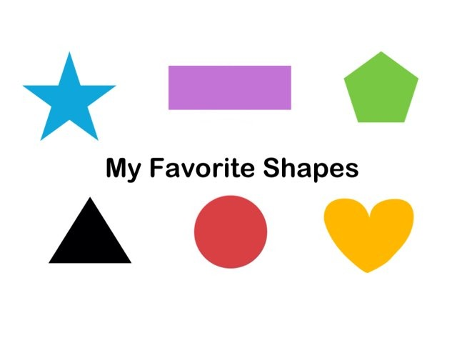 My Favorite Shapes by Debbie Sanders