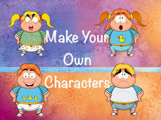 Make Your Own Characters by Hadi  Oyna
