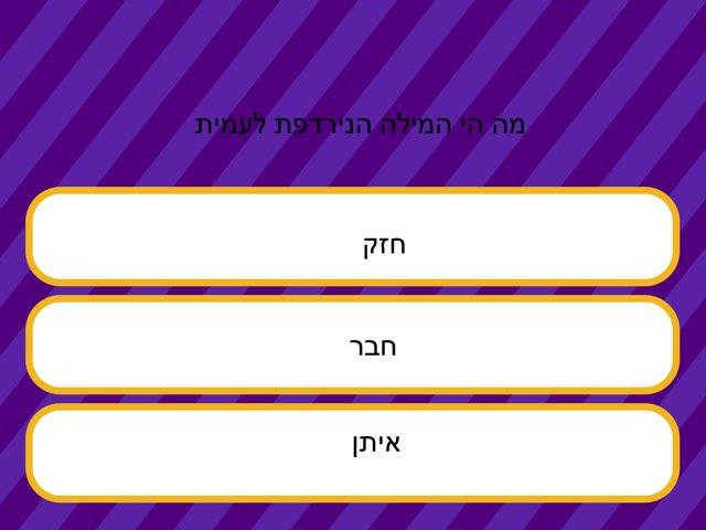 מילים נרדפות אריאל by Netaaya Schwartz