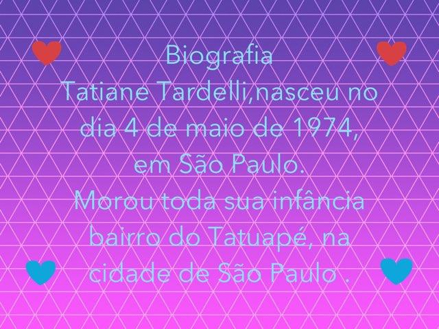 Biografia Da Mãe 3 Ano Giulia Tardelli by Terceiro Ano Pueri Digital Aclimação