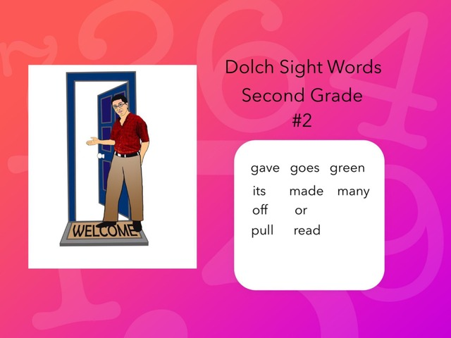 Dolch Sight Words: Second Grade #2 by Carol Smith