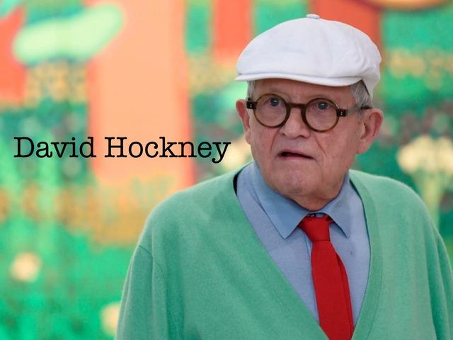 David Hockney Obrada  by natasa delac