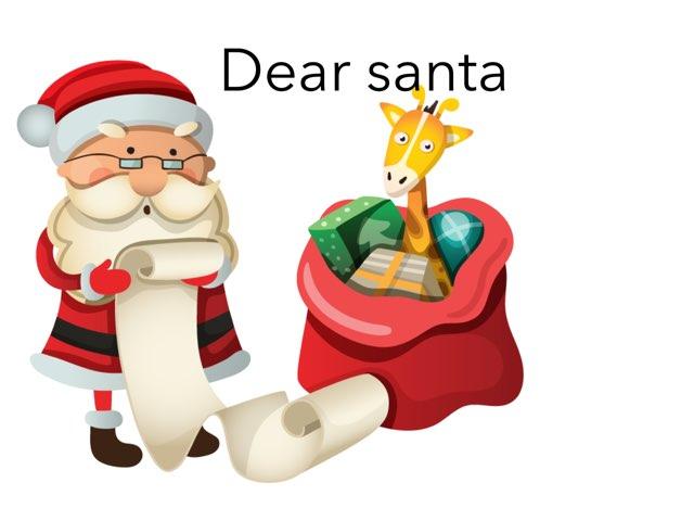 Dear Santa by shoshi garcia