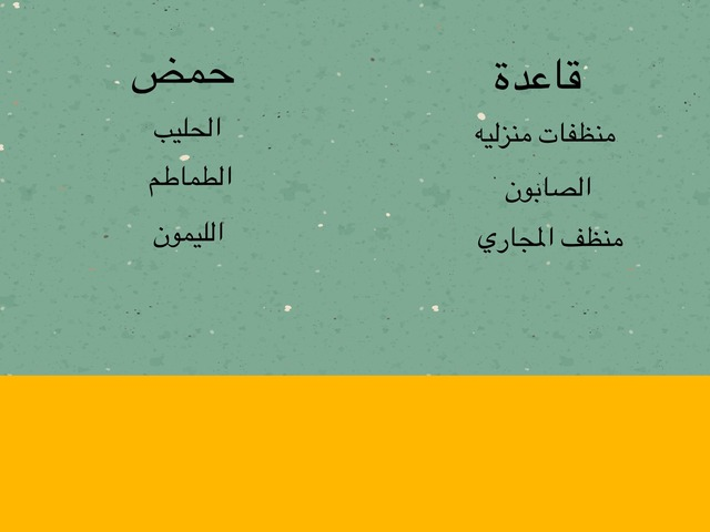 الخصائص الكيميائيه٦ by Alanoud SA