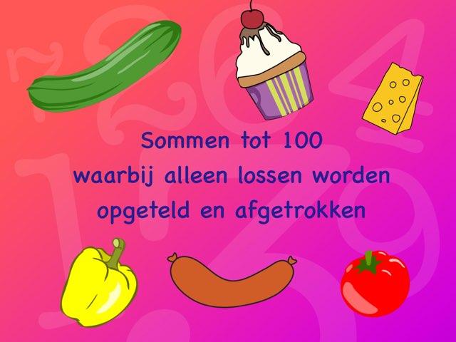 Sommen tot 100 met lossen by Annemieke Dijkmans
