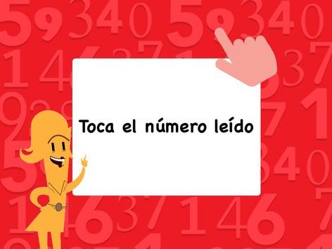 Toca El Número Leído  by Andrea N. Lebron