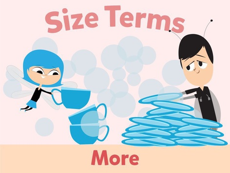 Size Terms: More by Miss Humblebee