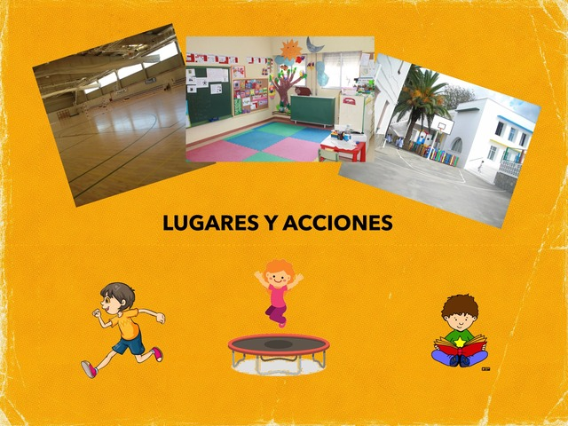 Lugares Y Acciones by Francisca Sánchez Martínez