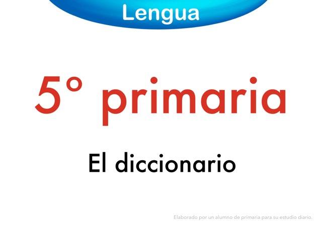 El diccionario by Elysia Edu