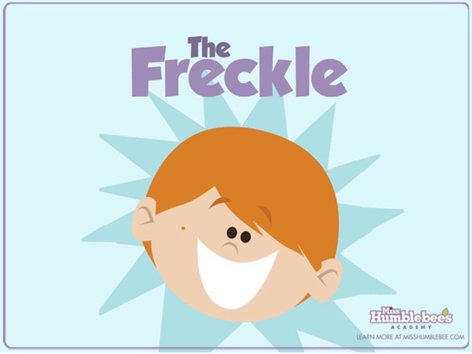The Freckle (EN UK) by Miss Humblebee