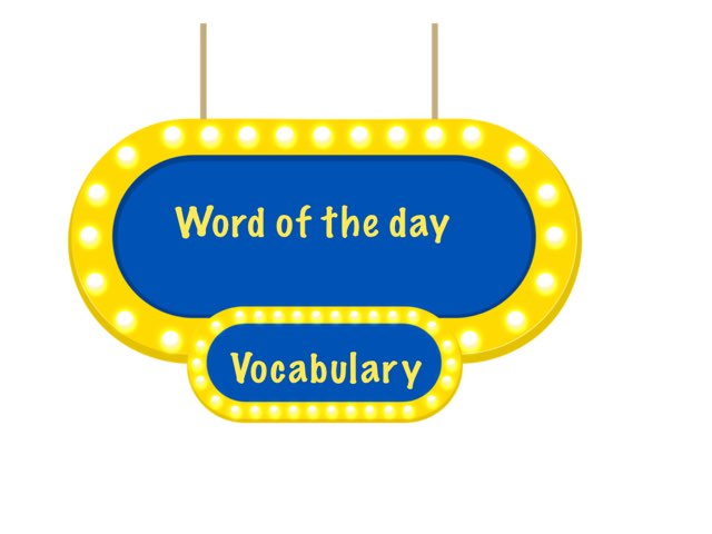 3rd Grade Vocabulary  by Michele Karszen