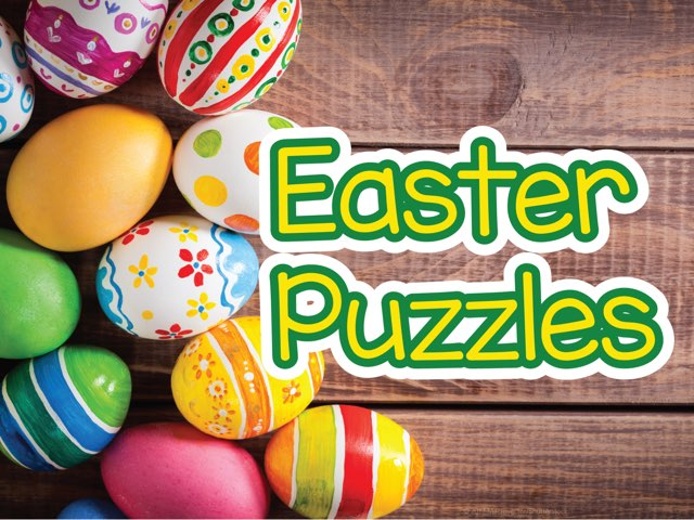 Easter Puzzles  by Miss Ruby