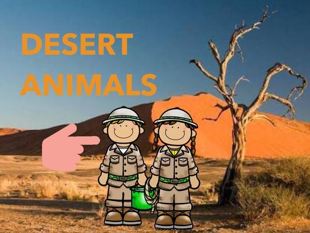 Desert Animals by Coordenação Tecnologias Educacionais