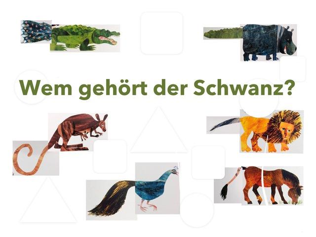 Wem gehört der Schwanz? by Marina Ruß