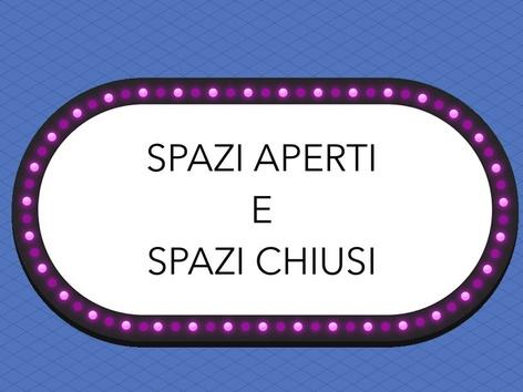 SPAZI APERTI E CHIUSI by Veronica Zonta