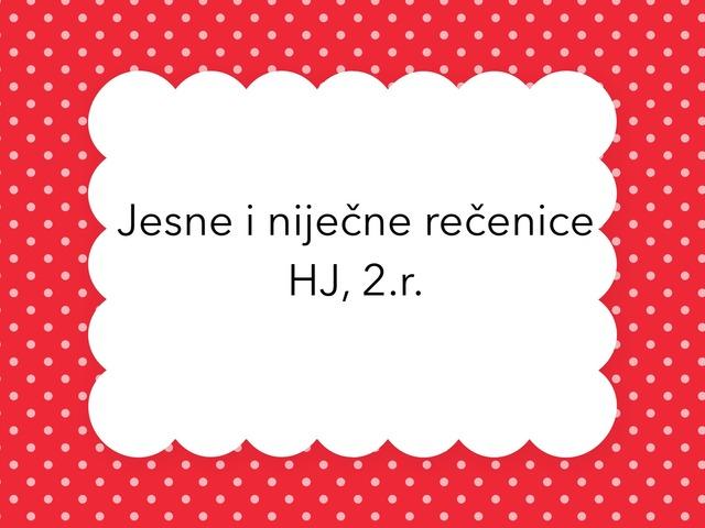 Jesne I Niječne Recenice 2.r. by natasa delac