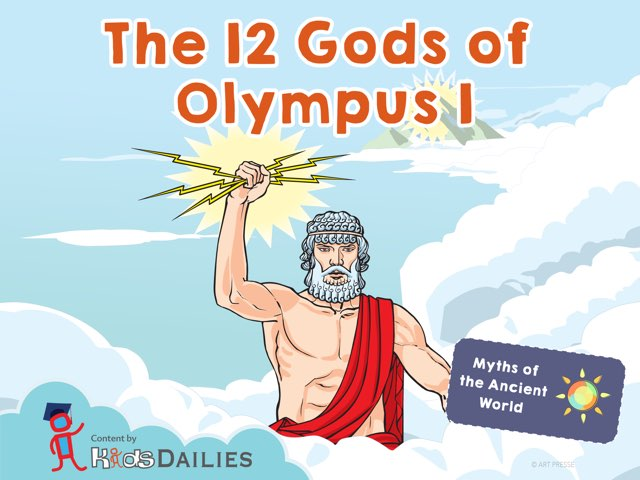 The 12 Gods of Olympus I by Kids Dailies
