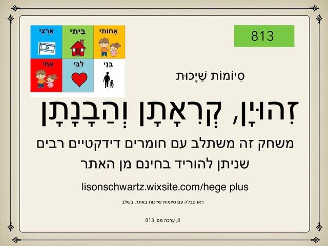 הבנת סיומות שייכות by Lison Schwartz