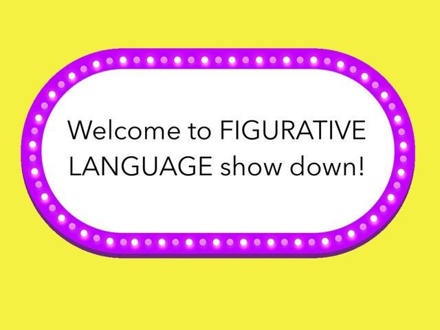 Figurative Langue Practice by Lisa Jordan