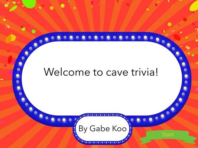 Cave Trivia by Gabriel Koo