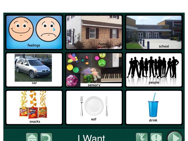 Communication Board by Wendy Bosco