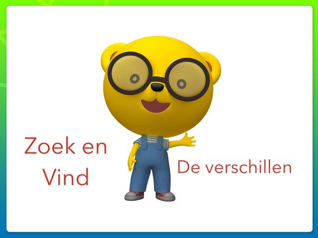 Zoek En Vind De Verschillen by Phaedra Delchambre