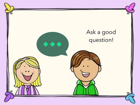 Ask A Good Question by Amy Scherrer