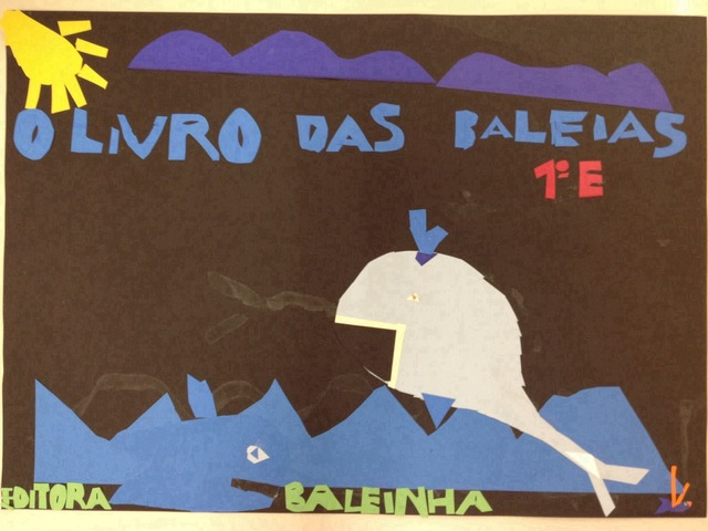 O Livro das Baleias  by Colégio Cervantes