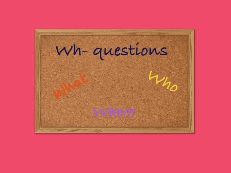 Wh-questions by Maegan Moss