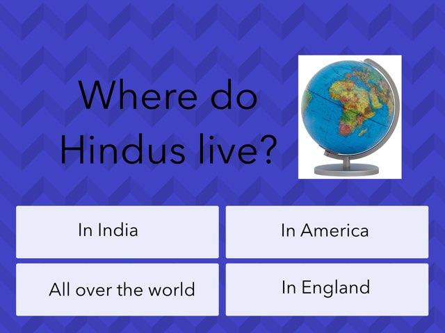 Hinduism Quiz by Katie Robertson