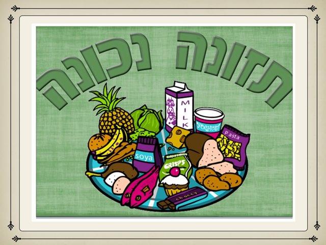 קבוצות מזון by מירית בכר