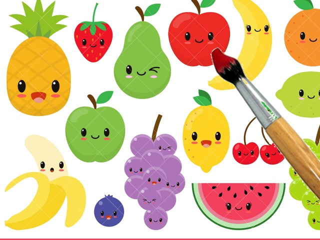 Color The Fruits  by Yam Goddard