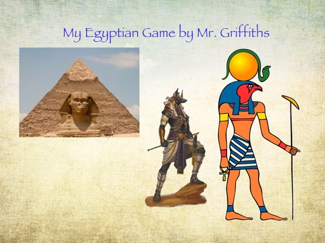 Egypt By Mr G by St Cecilias