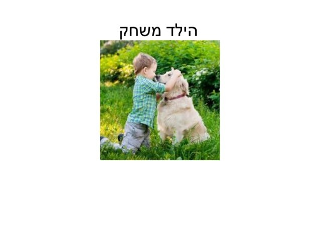 הילד משחק by טליה תמיר